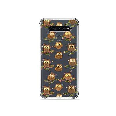 Capinha (Transparente) para LG K41s - Corujinhas
