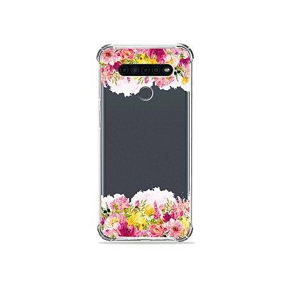 Capinha (Transparente) para LG K41s - Botânica