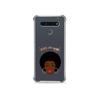 Capinha (Transparente) para LG K41s - Black Lives