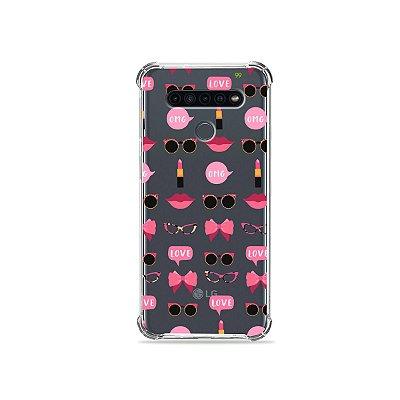 Capinha (Transparente) para LG K41s - Girls