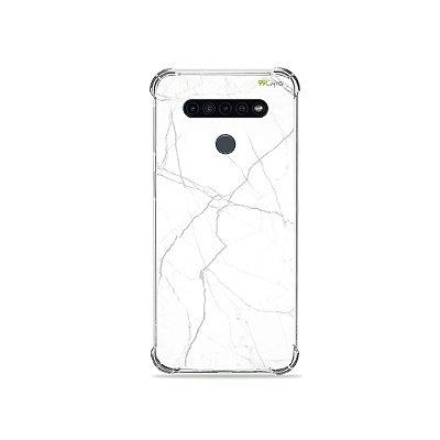 Capinha para LG K41s - Marble White