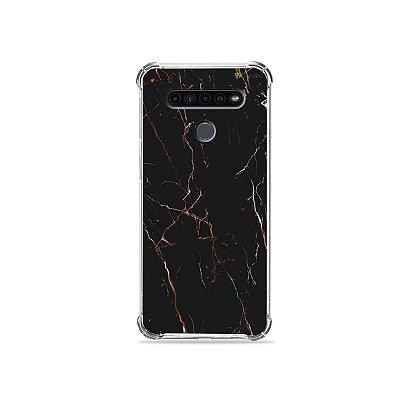 Capinha para LG K41s - Marble Black