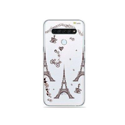 Capinha (Transparente) para LG K61 - Paris