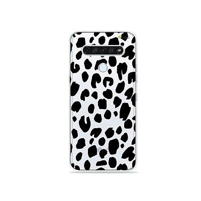 Capinha (Transparente) para LG K61 - Animal Print Basic