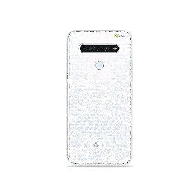Capinha (Transparente) para LG K61 - Rendada