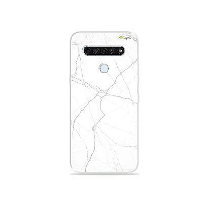 Capinha para LG K61 - Marble White