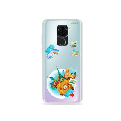 Capinha (Transparente) para Xiaomi Redmi Note 9 - Memórias