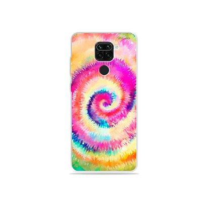 Capinha para Xiaomi Redmi Note 9 - Tie Dye