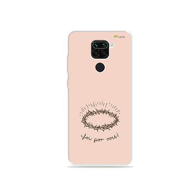 Capinha para Xiaomi Redmi Note 9 - Foi por você
