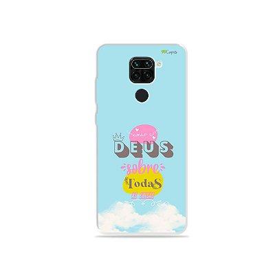 Capinha para Xiaomi Redmi Note 9 - Amar a Deus