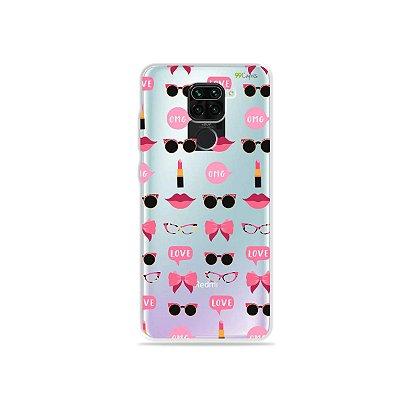 Capinha (Transparente) para Xiaomi Redmi Note 9 - Girls