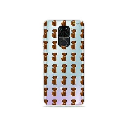 Capinha (Transparente) para Xiaomi Redmi Note 9 - Golden