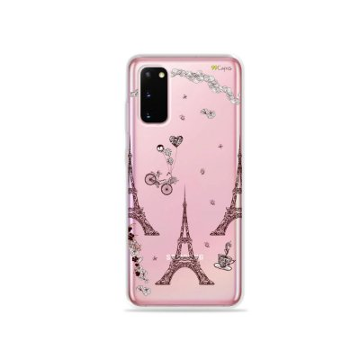 Capinha (Transparente) para Galaxy S20 - Paris
