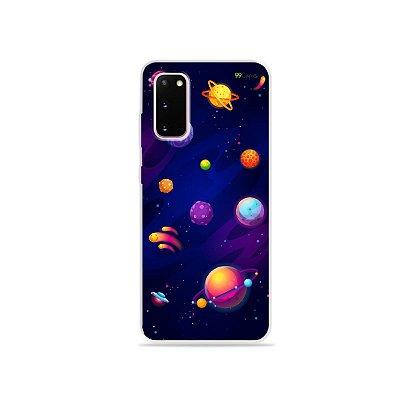 Capinha para Galaxy S20 - Galáxia