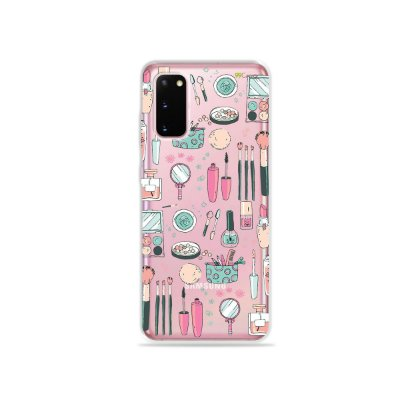 Capinha (Transparente) para Galaxy S20 - Make Up