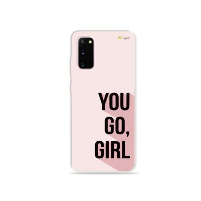 Capinha para Galaxy S20 - You Go, Girl