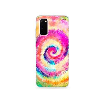 Capinha para Galaxy S20 - Tie Dye