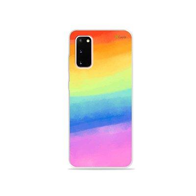 Capinha para Galaxy S20 - Rainbow