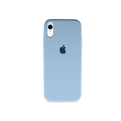 Silicone Case Azul Bebê para iPhone XR - 99Capas