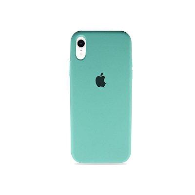 Silicone Case Verde Água para iPhone XR - 99Capas