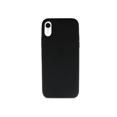 Silicone Case Preta para iPhone XR - 99Capas