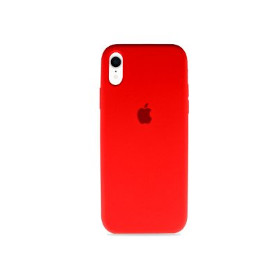 Silicone Case Vermelha para iPhone XR - 99Capas