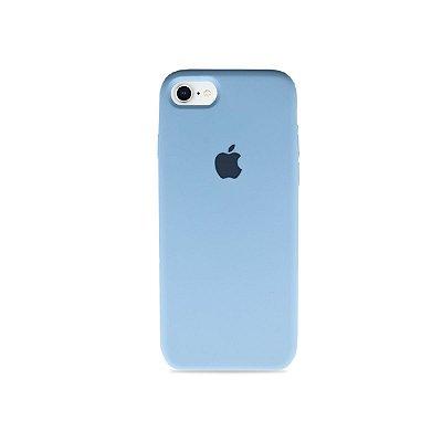Silicone Case Azul Bebê para iPhone 8 - 99Capas