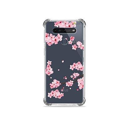 Capinha (Transparente) para LG K51s - Cerejeiras