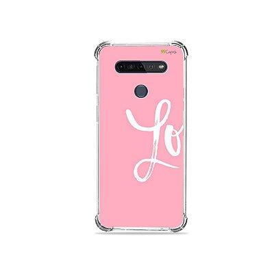 Capinha para LG K51s - Love 1