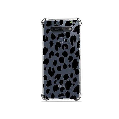 Capinha (Transparente) para LG K51s - Animal Print Basic