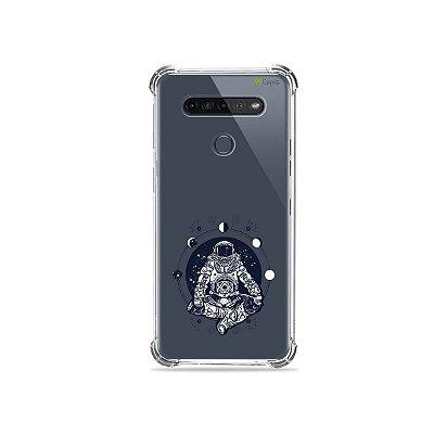 Capinha (Transparente) para LG K51s - Astronauta