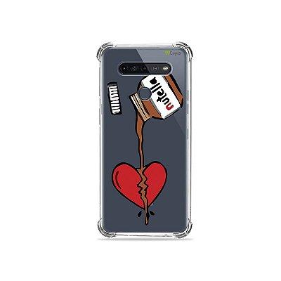 Capinha (Transparente) para LG K51s - Nutella