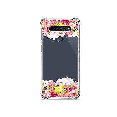Capinha (Transparente) para LG K51s - Botânica
