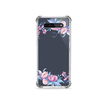 Capinha (Transparente) para LG K51s - Bromélias