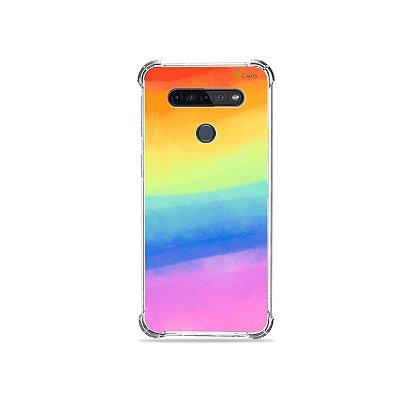 Capinha para LG K51s - Rainbow