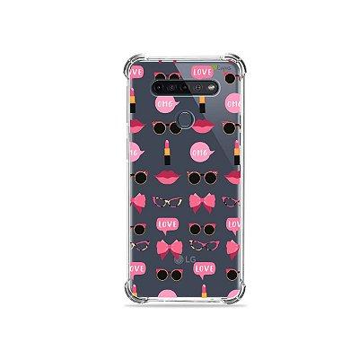 Capinha (Transparente) para LG K51s - Girls