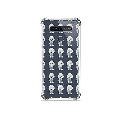 Capinha (Transparente) para LG K51s - Poodle