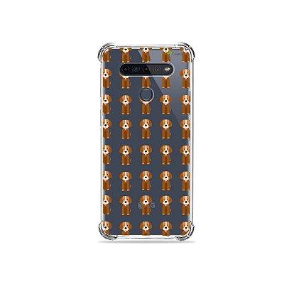 Capinha (Transparente) para LG K51s - Cocker