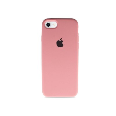 Silicone Case Rosa Claro para iPhone 8 Plus - 99Capas