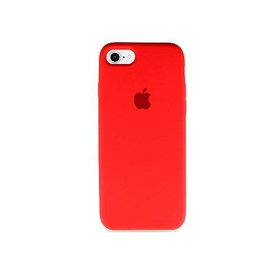 Silicone Case Vermelha para iPhone 7 Plus - 99Capas