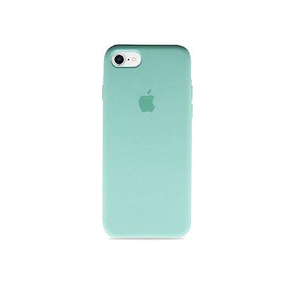 Silicone Case Verde Água para iPhone 8 Plus - 99Capas
