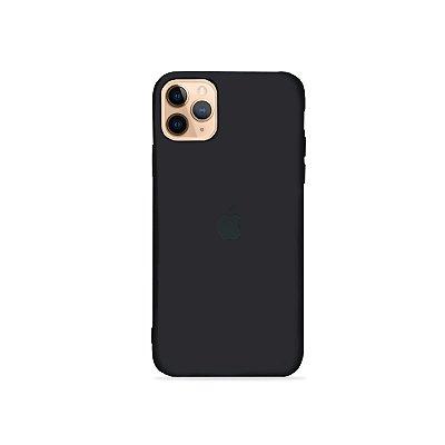 Silicone Case Preta para iPhone 11 Pro Max - 99Capas