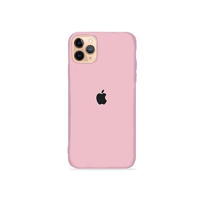 Silicone Case Rosa Claro para iPhone 11 Pro - 99Capas