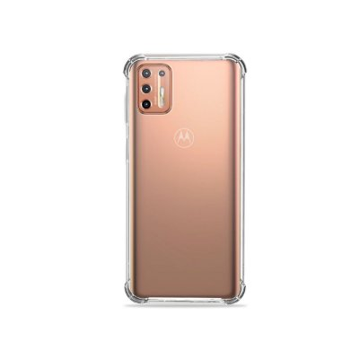 Capa Transparente Anti-Shock para Moto G9 Plus