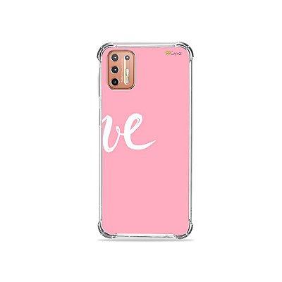 Capinha para Moto G9 Plus - Love 2