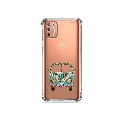 Capinha (Transparente) para Moto G9 Plus - Kombi