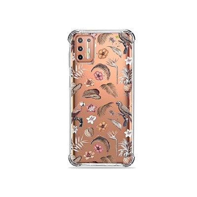 Capinha (Transparente) para Moto G9 Plus - Sweet Bird