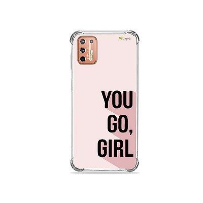 Capinha para Moto G9 Plus - You Go, Girl