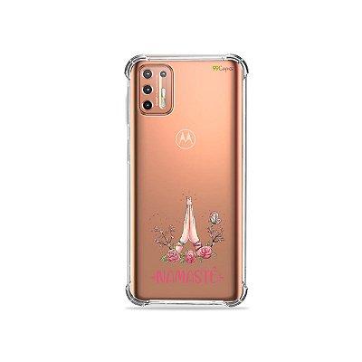 Capinha (Transparente) para Moto G9 Plus - Namastê