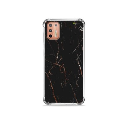 Capinha para Moto G9 Plus - Marble Black